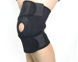 Orthotic knee support brace
