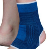 Orthotic compression ankle support sleeve
