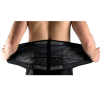 Lower back support brace