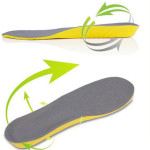 Orthotic support insoles