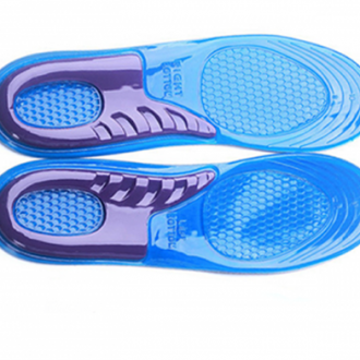 Soothing massaging gel insoles for foot pain