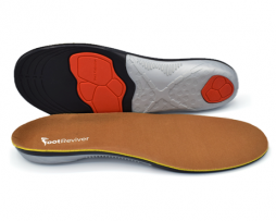 Footreviver shock absorbing orthotic insoles