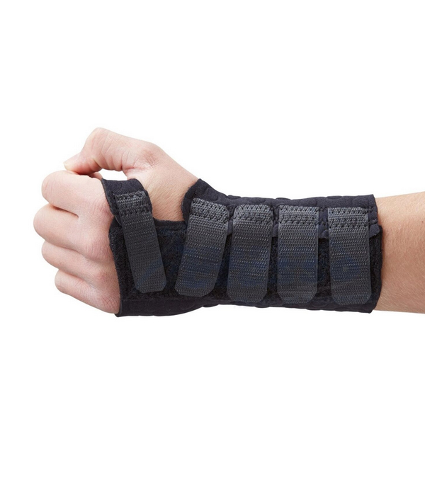 Wirst and hand support for strains and sprains