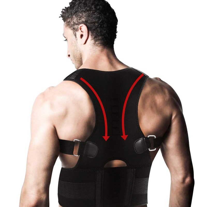 How the Magnetic Posture Corrective Brace works