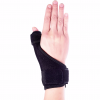 Thumb support spica splint front view